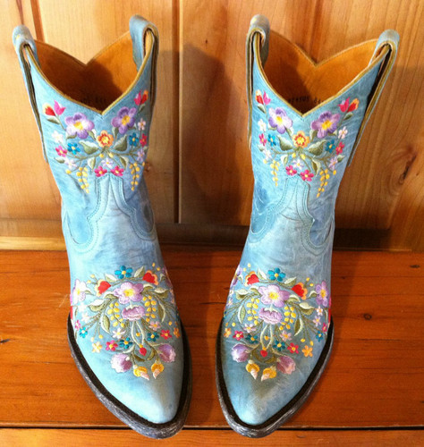 Old Gringo Sora Aqua Boots L841-8 Front