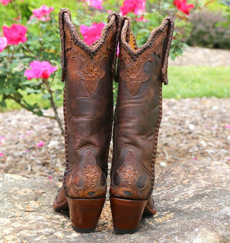Old Gringo Julian Rust Boots L551-4 Heel