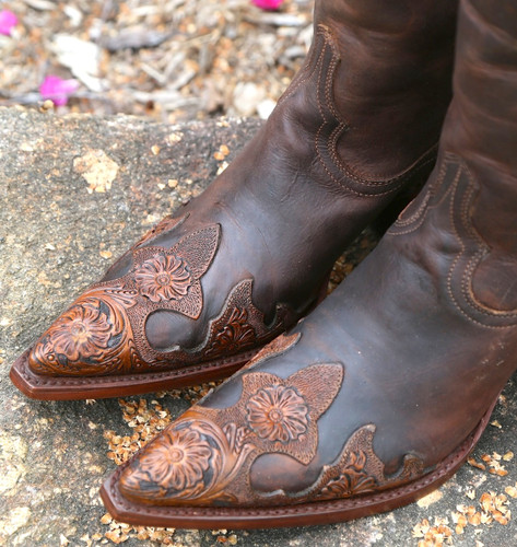 Old Gringo Julian Rust Boots L551-4 Toe