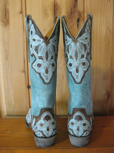 Old Gringo Marrione Aqua Boots L836-1 Back