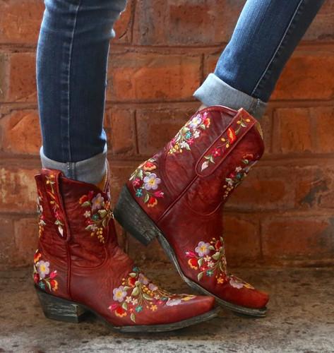 Old Gringo Sora Red Boots L841-9 Image