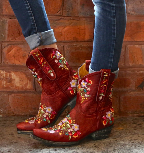 Old Gringo Sora Red Boots L841-9 Picture