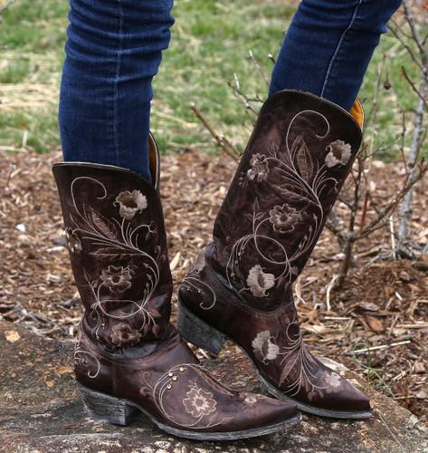 Old Gringo Julie Chocolate Boots L956-3 Image