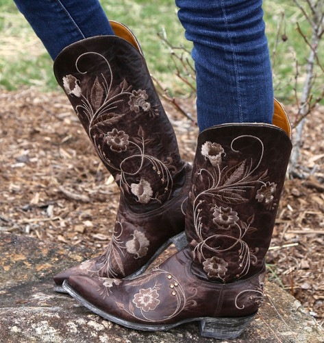 Old Gringo Julie Chocolate Boots L956-3 Picture