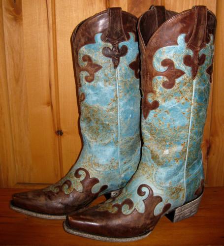 Lane Dawson Boots Left Side