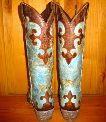LB0023A Lane Dawson Boots Back Picture