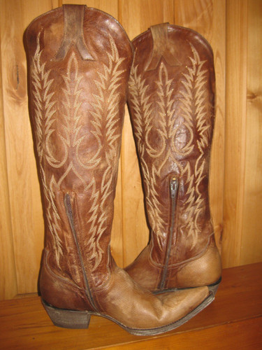 Old Gringo Mayra Brass Boots L601-3 Full