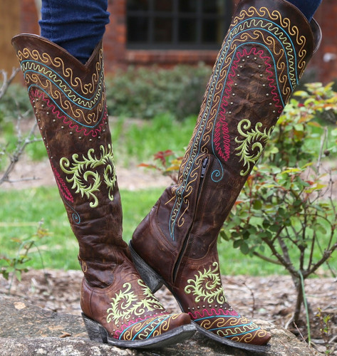 Old Gringo Gaban Brass Boots L929-2