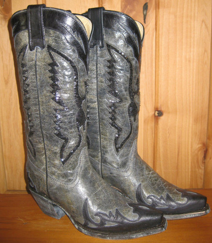 Corral Boots Black Eagle Inlay Boots R1003