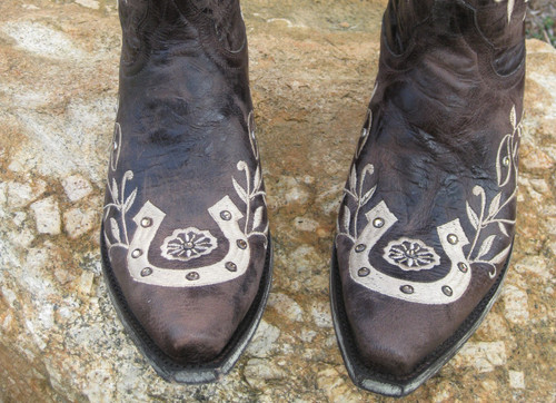 Old Gringo Boots Horseshoe Picture
