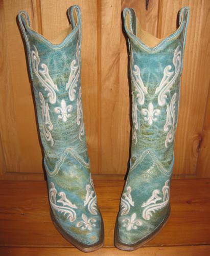 Corral Blue Cortez Boots R1973
