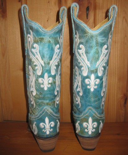 Corral Turquoise Cortez Boots R1973