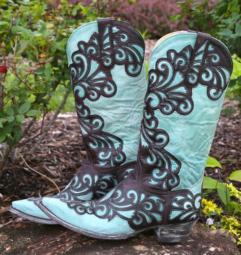 Old Gringo Linda Chocolate Boots L1025-1 Image