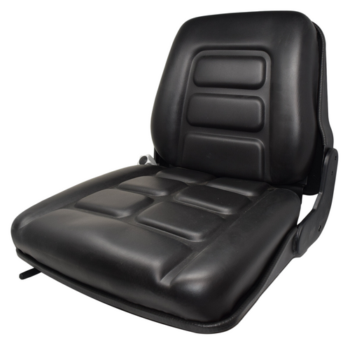 High Back Vinyl Seat w/Slides and Suspension