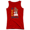 Image for We Bare Bears Girls Tank Top - Stack Goals