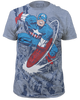 Image for Captain America T-Shirt - Fighting