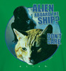 Image Closeup for Alien Long Sleeve T-Shirt - Jonesy Don't Care