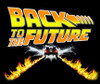 Image Closeup for Back to the Future T-Shirt - Classic Tire Tracks