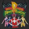 Image Closeup for Power Rangers Long Sleeve T-Shirt - Rangers Unite