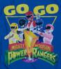 Image Closeup for Power Rangers Long Sleeve T-Shirt - Go Go