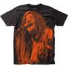 Image for Janis Joplin Subway T-Shirt - Microphone Big Print