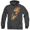 Image for Shazam Movie Heather Hoodie - Tiger Bolt
