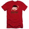 Image for Shazam Movie Premium Canvas Premium Shirt - Chibi