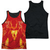 Image for Shazam Movie Sublimated Tank Top - What's Inside Black Back