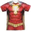 Front image for Shazam Movie Sublimated T-Shirt - Uniform 100% Polyester
