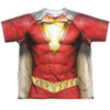 Front image for Shazam Movie Sublimated Youth T-Shirt - Uniform