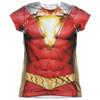 Front image for Shazam Movie Girls T-Shirt - Sublimated Uniform