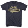 Image for Muhammad Ali T-Shirt - I Am the Greatest Cursive