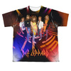 Image for Def Leppard Sublimated Youth T-Shirt - On Stage 100% Polyester