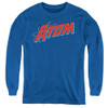 Image for The Atom Logo Youth Long Sleeve T-Shirt