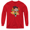 Image for Teen Titans Go! Youth Long Sleeve T-Shirt - Robin