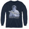 Image for Columbo Youth Long Sleeve T-Shirt - Just One More Thing