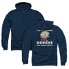 Image for Family Guy Zip Up Back Print Hoodie - Douche the Night Away
