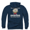 Family Guy Zip Up Back Print Hoodie - Douche the Night Away