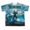 Image for Falling Skies Youth T-Shirt - Sublimated Battle 100% Polyester