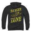 Archer Zip Up Back Print Hoodie - Leap of Faith