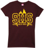 Image Closeup for Buffy the Vampire Slayer Sunnydale High School Girls Shirt