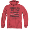 Image for Office Space Heather Hoodie - Excuse Me, I Believe You Have My Stapler