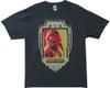 Image Closeup for Big Lebowski T-Shirt - Dude Abides Crest
