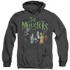 Image for The Munsters Heather Hoodie - 1313 50 Years