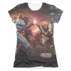 Image detail for Masters of the Universe Girls Sublimated T-Shirt - Battle