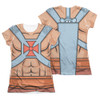 Masters of the Universe Girls Sublimated T-Shirt - He Man Costume