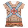 Image detail for Masters of the Universe Girls Sublimated T-Shirt - He Man Costume