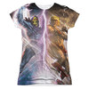 Image for Masters of the Universe Girls Sublimated T-Shirt - Strike 100% Polyester