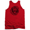 Image for Power Rangers Tank Top - Beast Morphers Red Ranger Icon