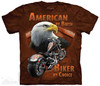 Image for The Mountain T-Shirt - American by Birth